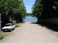 Panther lake boat launch